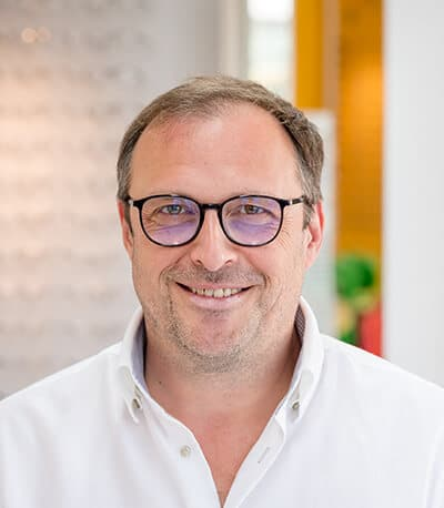 Rainer Becker, Augenoptikermeister bei Okay Optic Nierstein