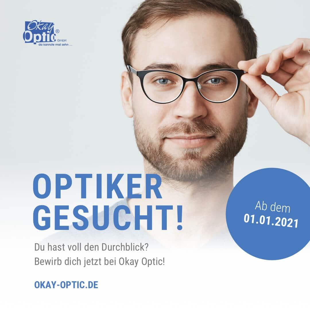 Optiker gesucht!